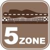 5 zone differenziate